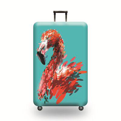 Printed Flamingo Suitcase Protective Cover Dust proof Travel Luggage Cover 18-32 6
