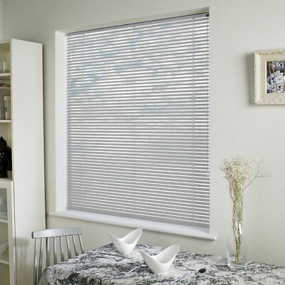 New PVC Blinds Window Venetian Easy Fit Blinds Home Office Wood Effect All Sizes 9