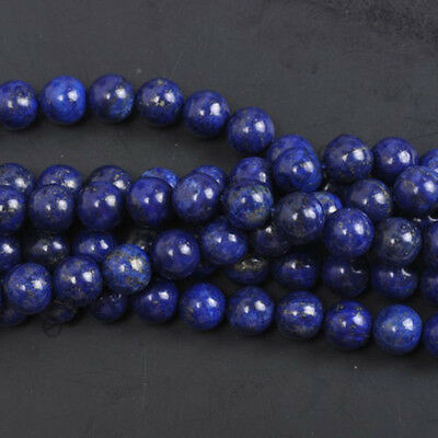Natural Gemstone Round Spacer Loose Beads 4MM 6MM 8MM 10MM  Assorted Stones 5