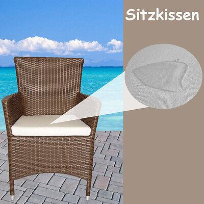 Gartenmöbel Auflagen Polster Sitzkissen Sitzpolster Kissen Rattan Lounge Stuhl 7