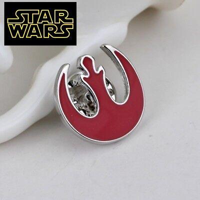 STAR WARS REBEL ALLIANCE Logo Metal Pin brooch prop badge darth vader cosplay 5