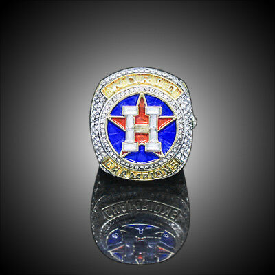 2017 Houston Astros World Series Championship Ring S8-14 Springer Altuve Alloy 6