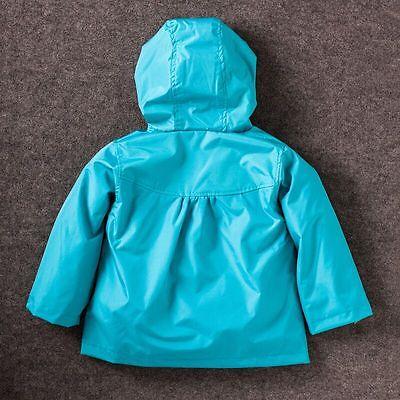 20343d1a ... Kids Baby Girls Hooded Autumn Lightweight Spring Jackets Kids Outerwear  raincoat 3