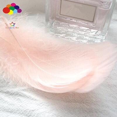 100pcs Natural Goose Feathers 8-12 Cm Swan Plume DIY Carnival Decoration Craft 9