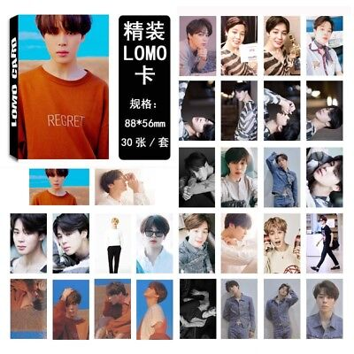 Lot of & KPOP Bangtan Boys Personal Collective Poster Photo Card Lomo Cards 10