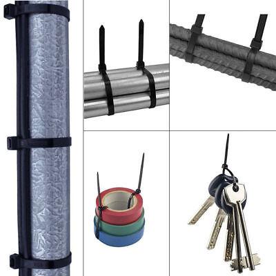 100 x Nylon Kabelbinder 2,5 x 200 mm schwarz R2D2