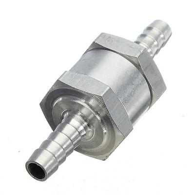 Neu 6mm 8mm 10mm 12mm Aluminium Ventil Rückschlagventil Benzinhahn Gasöl Diesel~