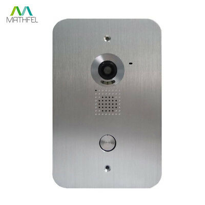 2 Draht Video Türsprechanlage Gegensprechanlage 2x 7 Zoll Monitor Klingel Farb 4