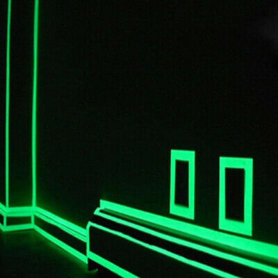 Luminous Tape Self-adhesive Glow In The Dark Safety Stage Sticker Home Decor TB 5