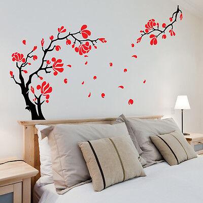 Wall Stickers Tree Flower Nursery Kids Wall Art Decal Butterfly Vinyl Decor\P412