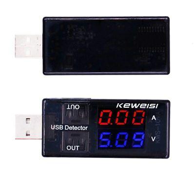 TESTER USB Voltaje Amperios PC Portatiles Voltimetro Amperaje Moviles Bateria 2