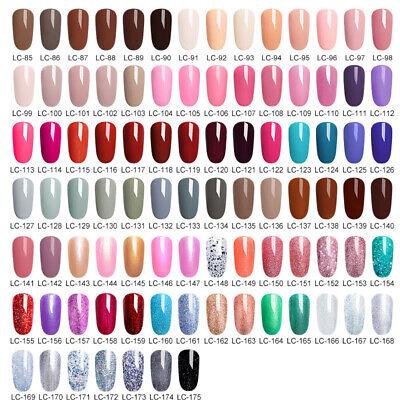 LILYCUTE® Nail Gel Polish UV LED Soak Off Colour Manicure Base No Wipe Top coat 3