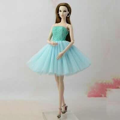 """Fashion Doll Clothes Short Ballet Dress For 11.5"""" Doll Outfits Evening Dress 1/6 9"""