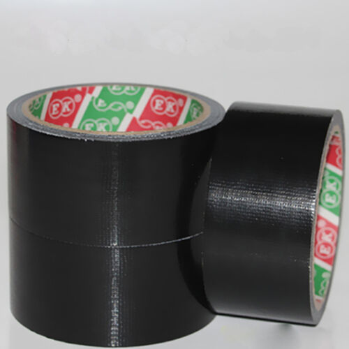 Waterproof Black Highly adhesive Heavy Duty Gaffer Duct 4.8cm*9m Cloth Tape C4V4