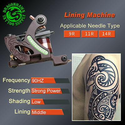Professional Tattoo Kits Complete Set Machine Gun Lining And Shading Tattoo Inks 12