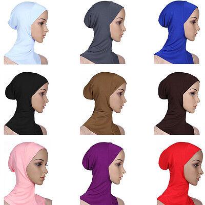 Cotone Mussulmano Copricapo Hijab Interna Cappellini Islamico Scaldacollo Ninja 2