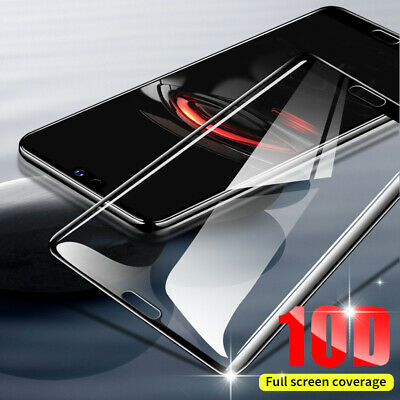 2PCS 10D Full Cover Tempered Glass Screen Protector For iPhone X XS Max XR 11 8+ 4