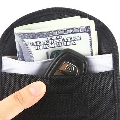 2x Car Key Keyless Entry Fob Signal Blocker Wallet Faraday Bag Pouch Case Large 6