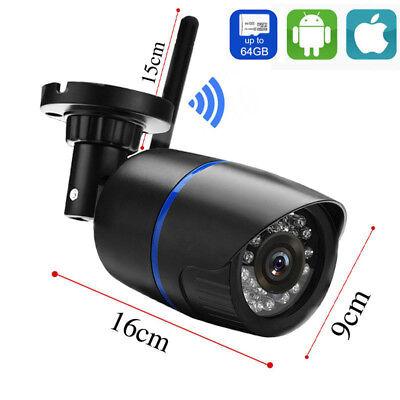 Security Wireless WIFI IP Audio Camera HD IR 1080P Outdoor W TF card slot-yoosee 7