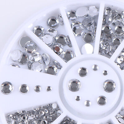 3D Nail Art Rhinestones Glitters Beads Acrylic Tips Decoration Manicure Wheels 8