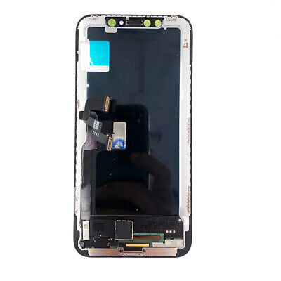 Touch Screen Lcd Display Per Apple Iphone X 10 Vetro Frame Oled Schermo Ricambio 2