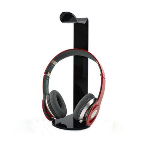 Fashion Acrylic Headphone Display Rack Stand Holder Hot Earphone Headset Hanger