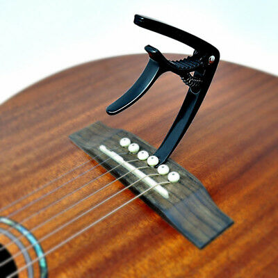 Black ADAGIO CAPO For Acoustic, electric and classical guitars, banjo BLACK 6