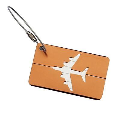 Aluminium Travel Luggage Tag Baggage Suitcase Bag Identity Address Name Labels 10