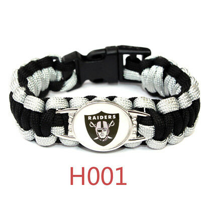 Football NFL US Team Umbrella Rope Wristband  Bracelets Bracelet-Pick Team Gift 3
