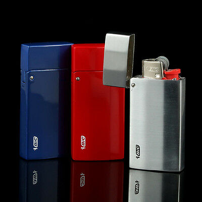 2PCS NEW BIC M3 series BIC lighter metal case cover not contain lighter,BF1