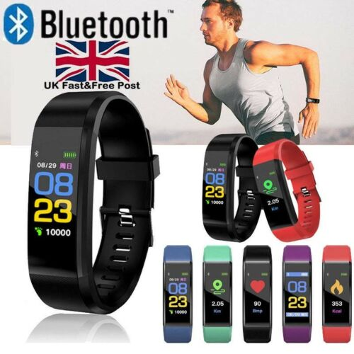 Fitness Smart Watch Activity Tracker WomenMen Kid Fitbit Android iOS Heart Rate# 2