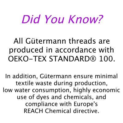 Gütermann Thread - 100m Reel 100% Cotton Machine + Hand Sewing Quilting 2