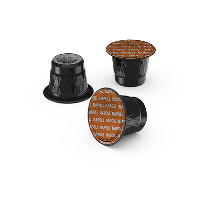 100 X Coffee Capsules Compatible Nespresso Pods STRONG NAPOLI BLEND