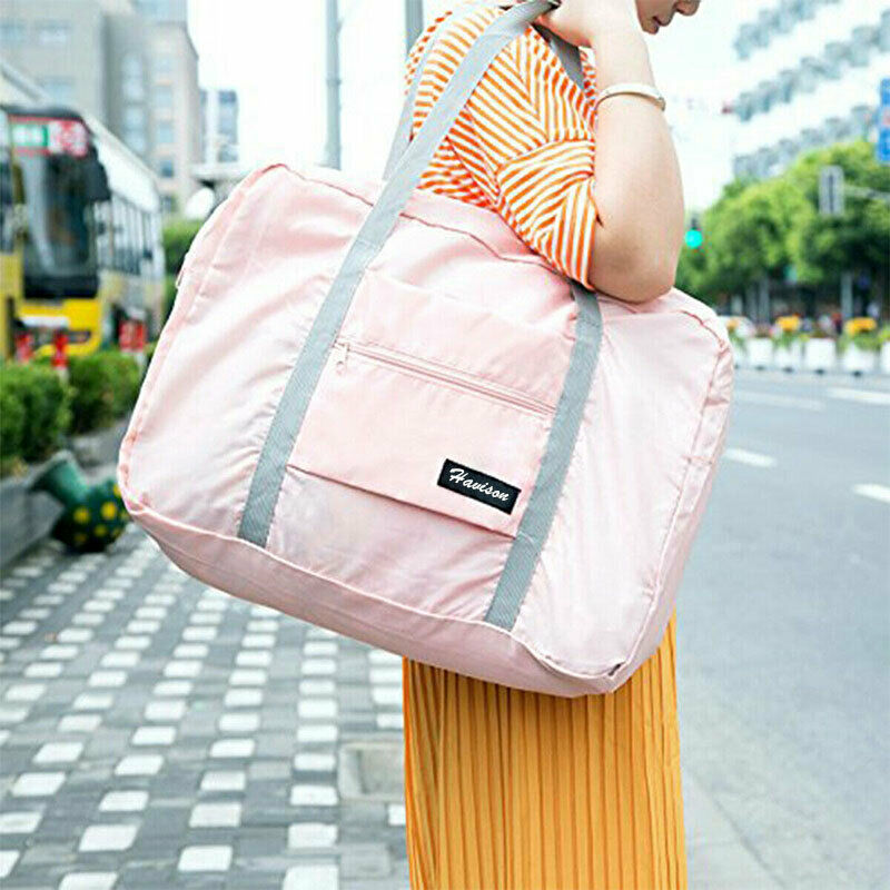 Foldable Large Duffel Bag Luggage Storage Bag Waterproof Travel Pouch Tote Bag 9