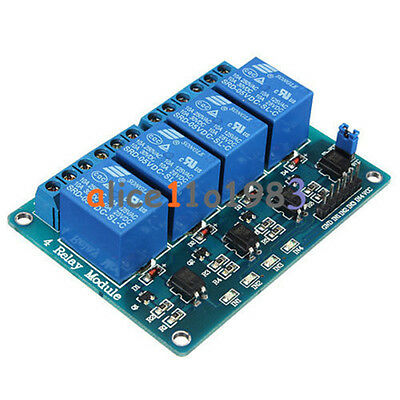 5V 1/2/4/8 Channel Relay Board Module Optocoupler LED for Arduino PiC ARM AVRC 4
