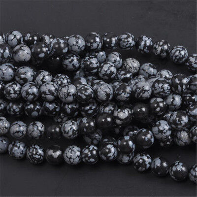 Natural Gemstone Round Spacer Loose Beads 4MM 6MM 8MM 10MM  Assorted Stones 12