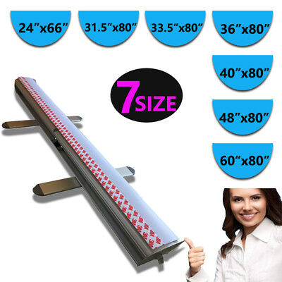 """Retractable Roll Up Banner Stand Trade Show Pop Up Display Stand,48"""" x 80"""""""