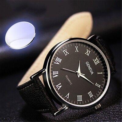 Men Watch Luxury Analog Quartz Watch Men Business Fashion Sport Wristwatch Band 2