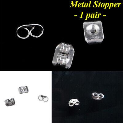 Women Men Genuine 925 Solid Sterling Silver Cubic Zirconia Round Stud Earrings 11