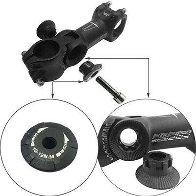 negro MTB Bicicleta Montaña ángulo ajustable Potencia Tubo subida Manillar 2