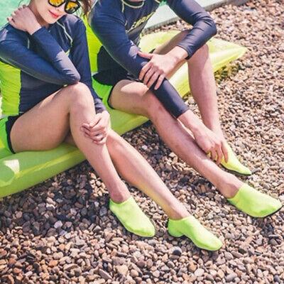 Men Women Skin Water Shoes Aqua Beach Socks Yoga Exercise Pool Swim Slip On Surf 3