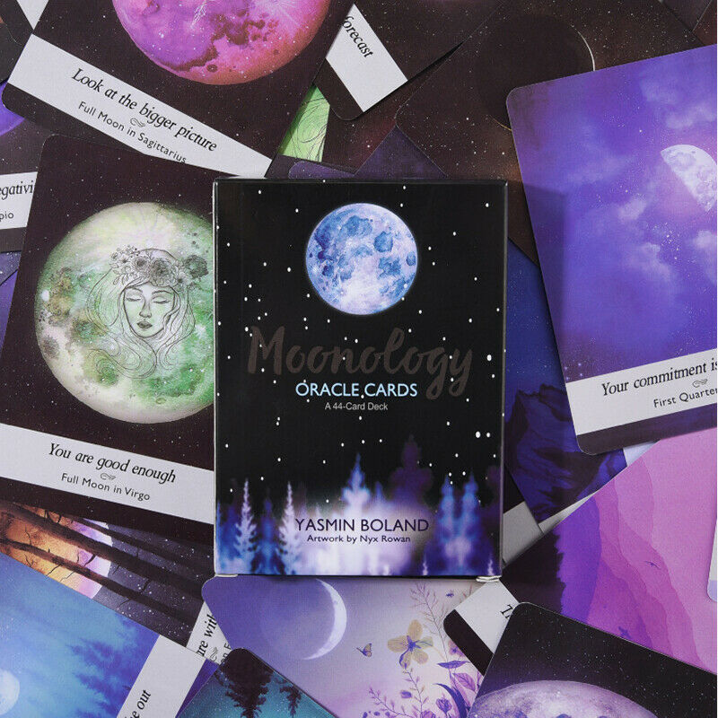 Moonology Oracle Cards: A 44-Card Deck and Guidebook by Yasmin Boland Magic 2