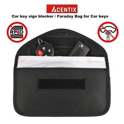 Car Key Faraday Bag Keyless Entry Fob Signal Guard Blocker 2X Wallet Pouch-Large 2