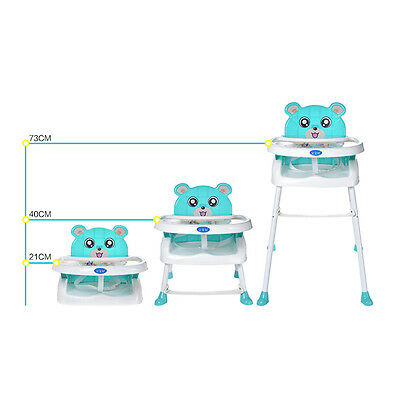 Bebe CHAISE HAUTE ENFANT PLIABLE REGLABLE HAUTEUR Infant Feeding Table Chair 6