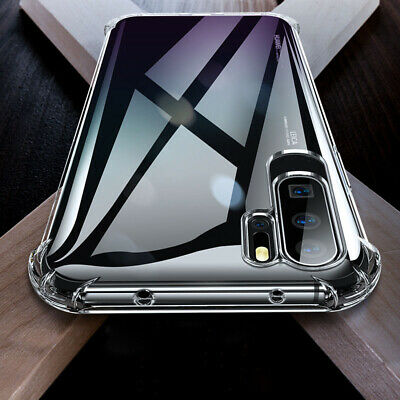 For Huawei P30 Pro Mate 20 Transparent Airbag Shockproof Silicone Case Cover 8
