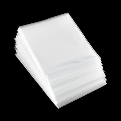 100pcs/pack Card Sleeve Cards Protector Magic Card Transparent Unsealed Game 4