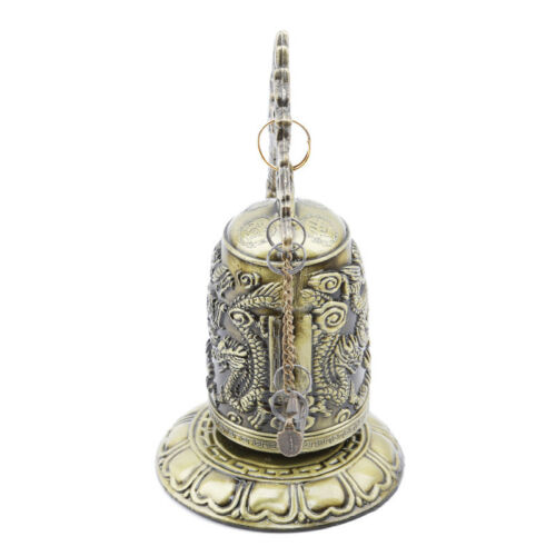 Gift Bronze Lock Home Decoration Retro Ornament Chinese Style Hit Dragon Bell 7