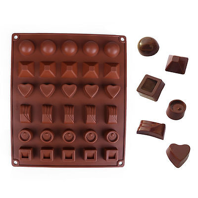 45 Design Silicone Cake Decorating Mould Candy Cookies Chocolate Baking Mold