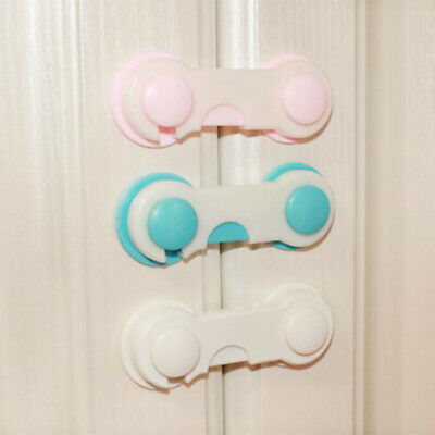 2/5Pcs Child Infant Baby Kids Drawer Door Cabinet Cupboard Protect Safety Locks 7