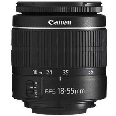 Canon EOS 4000D Rebel T100 18MP DSLR Camera + EF-S 18-55mm and EF 75-300 Lenses 3